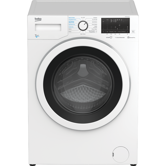 Beko WDER7440421W 7Kg / 4Kg Washer Dryer with 1400 rpm - White - A Rated