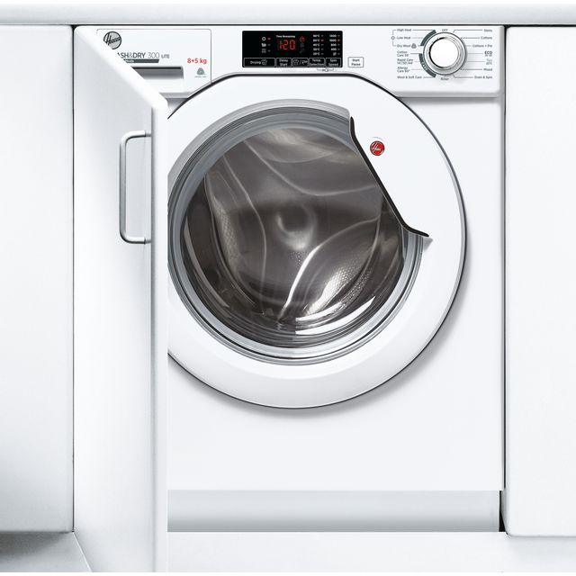 Hoover HBD485D1E/1 Integrated 8Kg / 5Kg Washer Dryer with 1400 rpm - White - A Rated