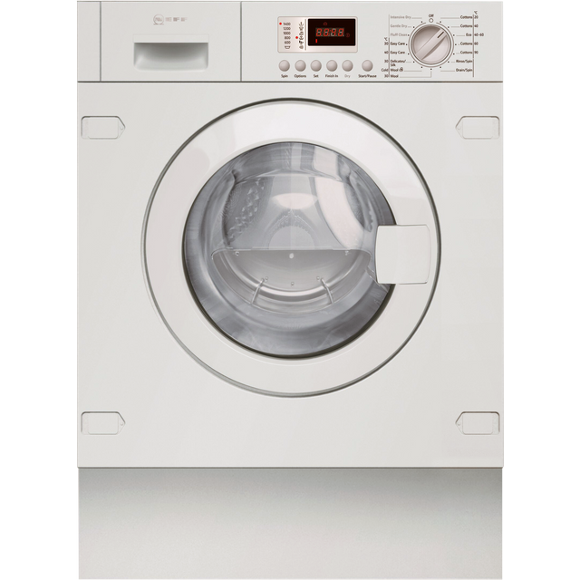 NEFF V6320X2GB Integrated 7Kg / 4Kg Washer Dryer with 1355 rpm - White - B Rated