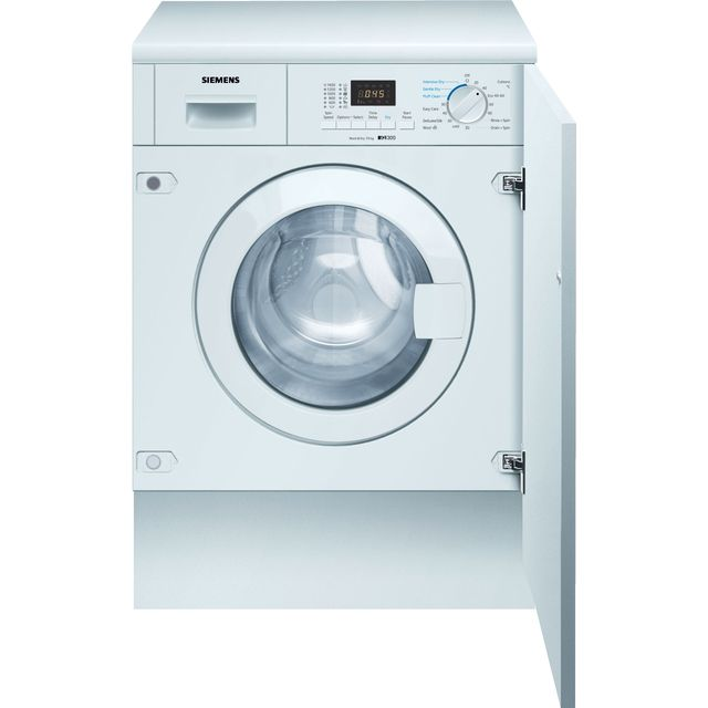 Siemens IQ-300 WK14D322GB Integrated 7Kg / 4Kg Washer Dryer with 1355 rpm - White - E Rated