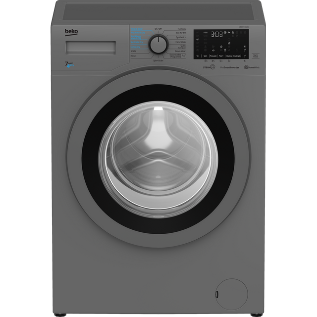 Beko WDER7440421S 7Kg / 4Kg Washer Dryer with 1400 rpm - Silver - D Rated